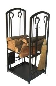 Gallery Log Station c-w tools, Black, 28 H