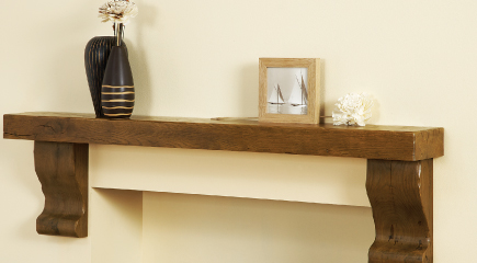 Large or Standard Shelves made from Beam Timber
